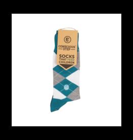 Conscious Step Socks that Feed Children (Argyle)