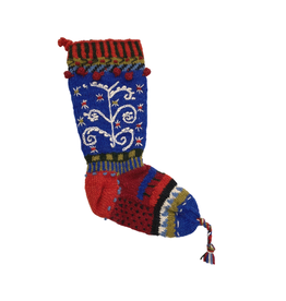 Laundromat Wool Christmas Stocking