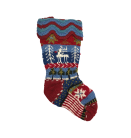 Laundromat Rudolph Christmas Stocking