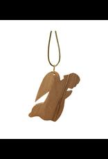 HolyLand Olivewood Angel Ornament