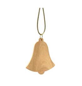 HolyLand Olivewood Bell Ornament
