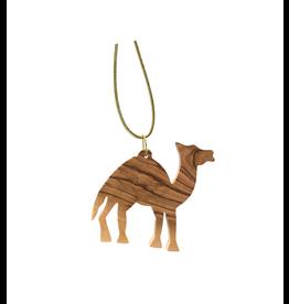 HolyLand Olivewood Camel Ornament
