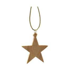 HolyLand Olivewood Classic Star Ornament