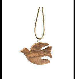 HolyLand Olivewood Dove Ornament