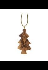 HolyLand Olivewood Tree Ornament