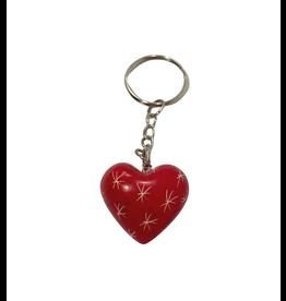 SMOLArt Soapstone Heart Keychain