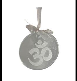 Association of Craft Producers Glass Om Ornament
