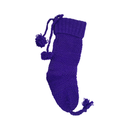 Padhma Creations Hand Knit Holiday Stocking