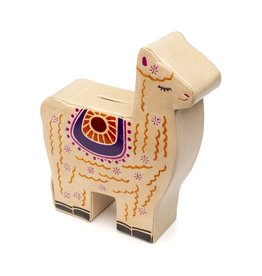 Sasha Association for Crafts Producers Llama Savings Bank