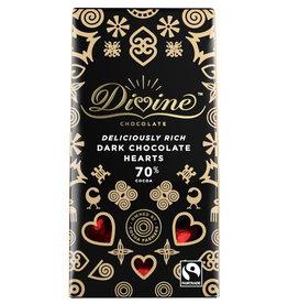 Divine Chocolate Divine Dark Chocolate Hearts