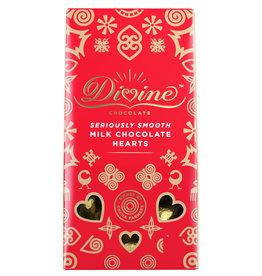 Divine Chocolate Divine Milk Chocolate Hearts