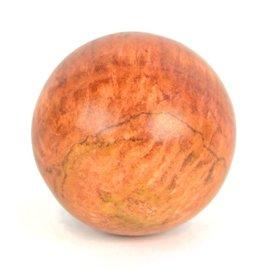 Minga Imports Orange Jasper Sphere