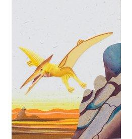 Mr. Ellie Pooh Pterodactyl Greeting Card