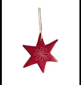 Maisha Stone Star Ornaments