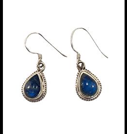 Ganesh Himal Blue Teardrop Earrings