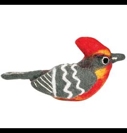 dZi Inc. Vermillion Flycatcher Bird Ornament