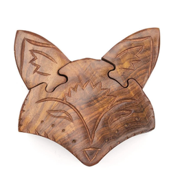 Matr Boomie Fox Puzzle Box