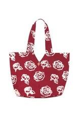 Global Mamas Red Roses Tote Bag