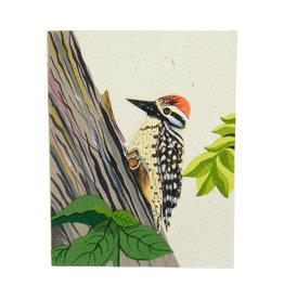 Mr. Ellie Pooh Woodpecker Greeting Card