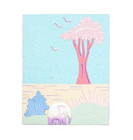 Mr. Ellie Pooh Pastel Elephant Greeting Card