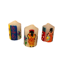 Kapula Village Ladies Votive Candles (6-Pack)