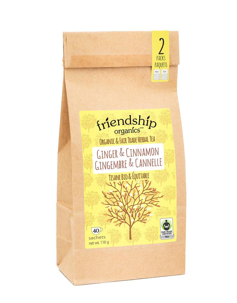 Friendship Tea Ginger and Cinnamon Twinpack
