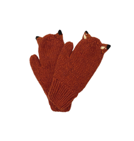 Andes Gifts Child Fox Mittens