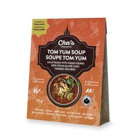 Cha's Organics Tom Yum Soup Paste with Dried Herbs