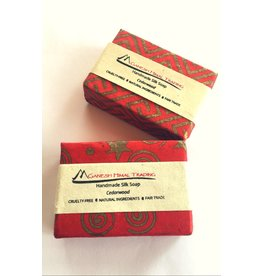 Ganesh Himal Cedarwood Silk Soap