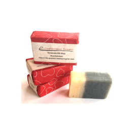 Ganesh Himal Rose with Charcoal Silk Soap