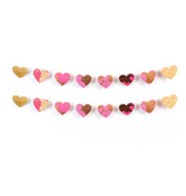 Matr Boomie Cotton Heart Garland