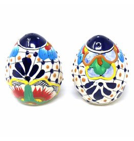 Encantada Pottery Bright Encantada Salt & Pepper Shakers