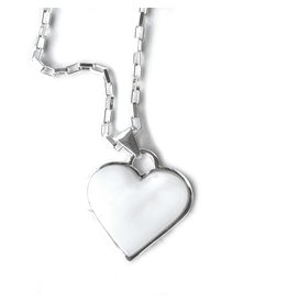 Artisana Shell Heart Necklace