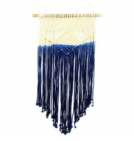 Beaurer Creations Blue Crush Macrame Wall Hanging