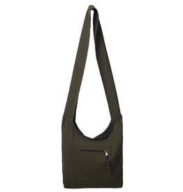 ARK Imports Green Slouch Bag