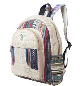 ARK Imports Natural Woven Backpack