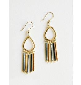 Tara Projects Threaded Rays Earrings
