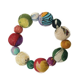 Flowering Desert Project Kantha Flower Bracelet