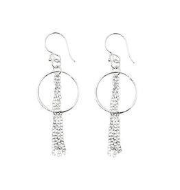 Just Trade Cascading Sterling Earrings