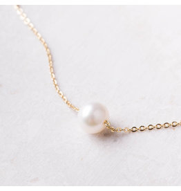 Starfish Project Golden Pearl Necklace