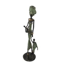Atelier de Formation et de Promotion des Artisans Helping Mamma Sculpture