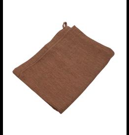 Sana Hastakala Rust Tea Towel