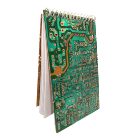 Sasha Association for Crafts Producers Circuit Board Notebook