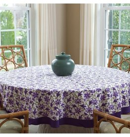 Living Imprints Wisteria Round Tablecloth