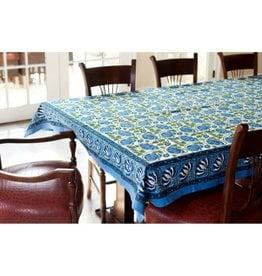 Living Imprints Lucky Lotus Tablecloth