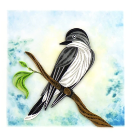 Quilling Card Kingbird Greeting Card