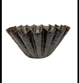 Scalloped-Edge Decorative Bowl
