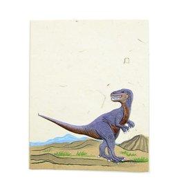 Mr. Ellie Pooh T-Rex Greeting Card