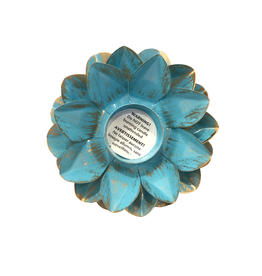 Sasha Association for Crafts Producers Blue Lotus Tealight Holder