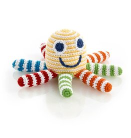 Kahiniwalla Rainbow Octopus Rattle